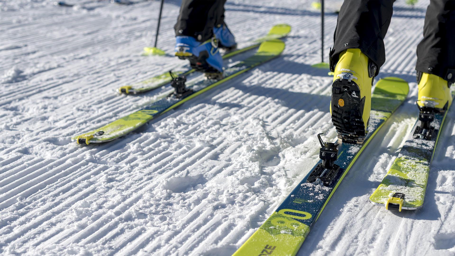 Pack Ski de randonnée RT 500 + fixations + peaux