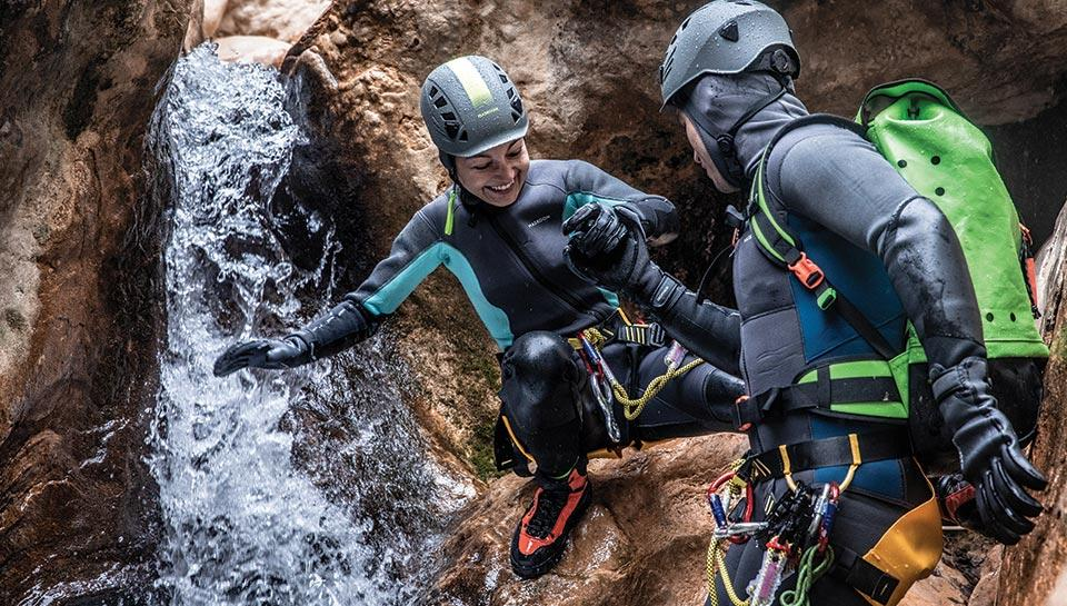 panoplie canyoning femme