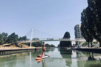 canal ourcq stand up paddle trip