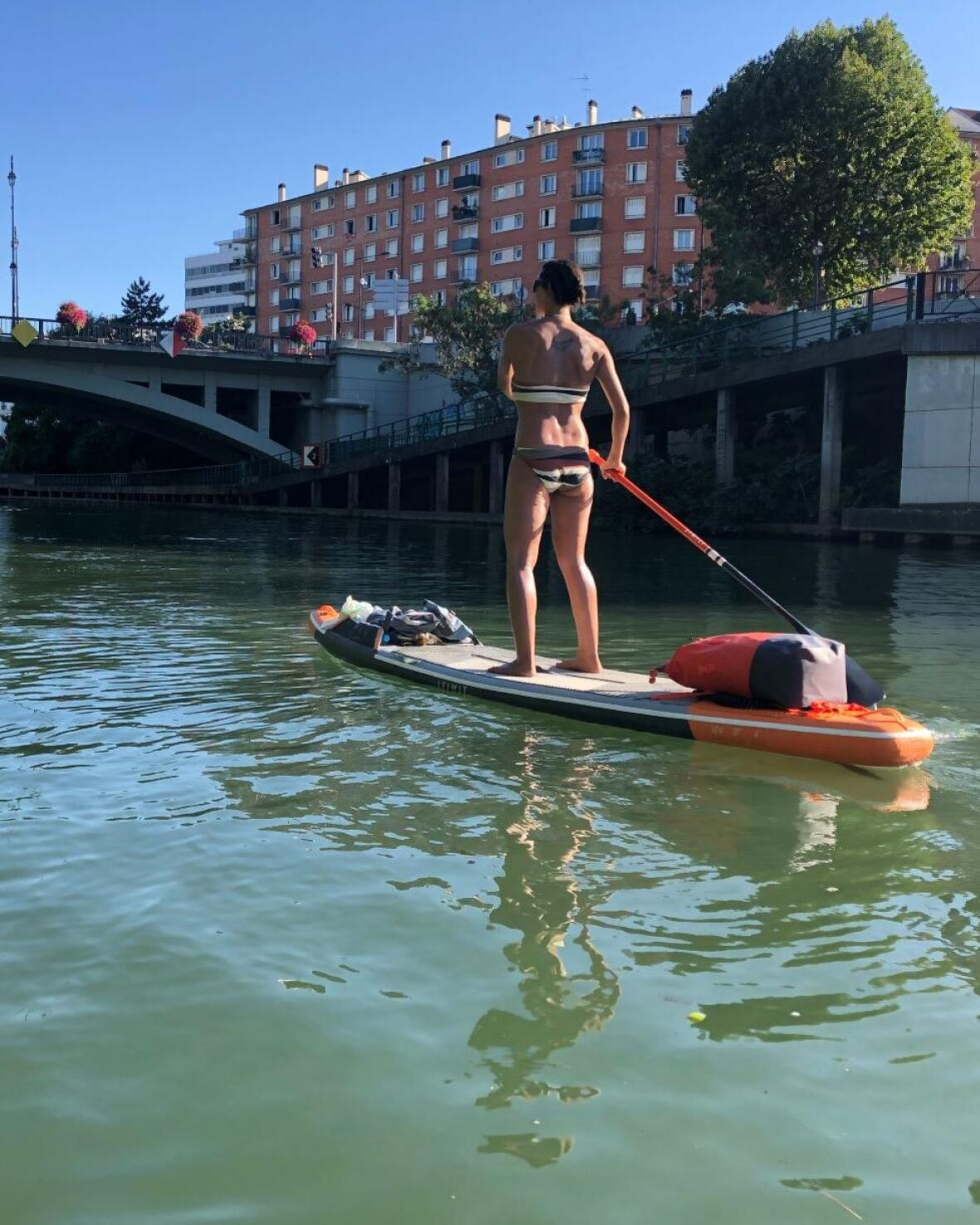 stand up paddle paris trip