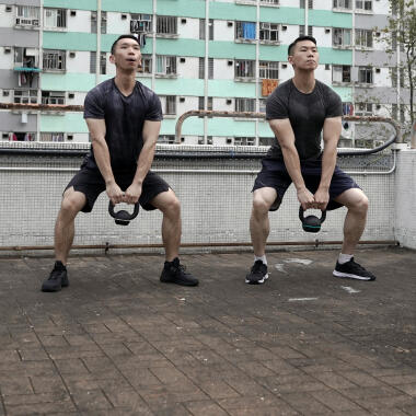 different type of squats