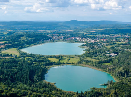 Parcours VTT Régions des Lacs au Jura