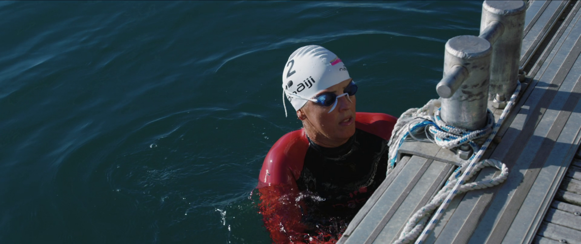 In love with open water swimming