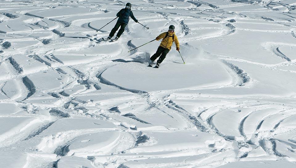 J'ai un bon niveau de ski et je découvre le ski freeride