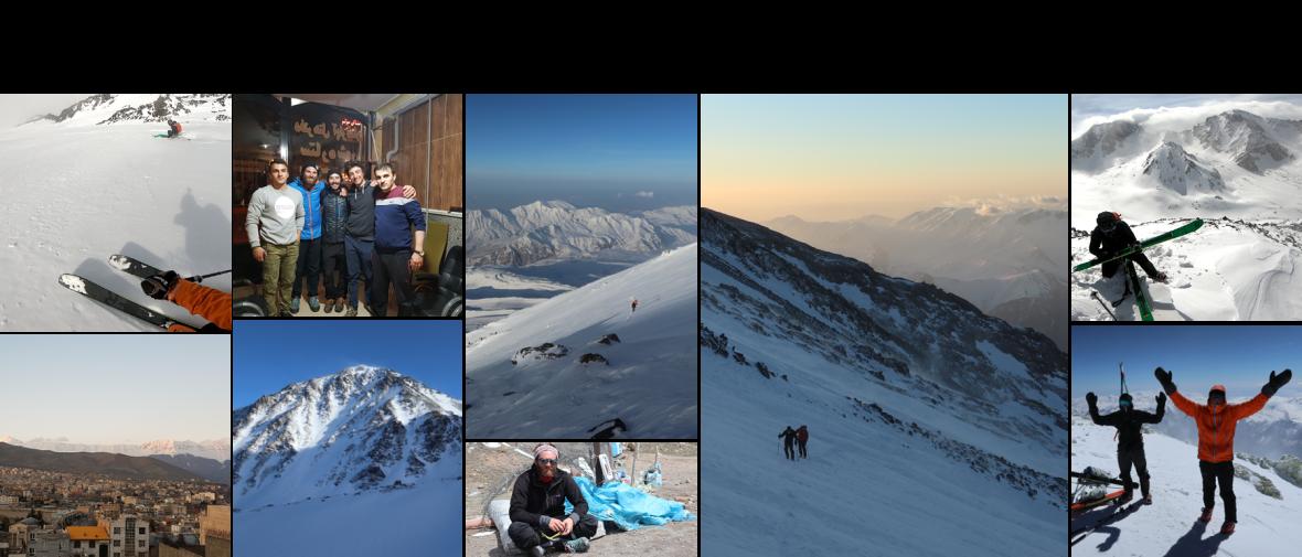 Trip freerando en Iran avec Simon, ambassadeur freeride Wedze