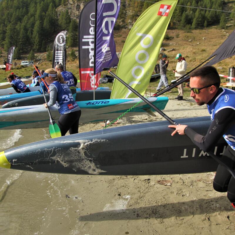 Alpine Paradise Race course de stand up paddle