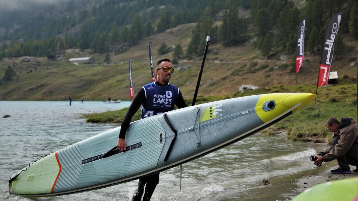 alpine race tour stand up paddle race itiwit