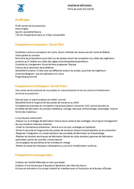 offre-emploi-ingenieur methodes-metal-simond-escalade-alpinisme-rhone-alpes-chamonix-74-savoie
