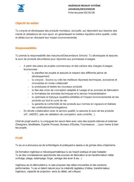 offre-emploi-ingenieur-produit-assureur-descendeur-metal-simond-escalade-alpinisme-rhone-alpes-chamonix-74-savoie