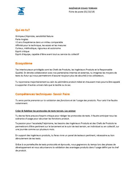 offre-emploi-ingenieur-essai-terrain-metal-simond-escalade-alpinisme-rhone-alpes-chamonix-74-savoie