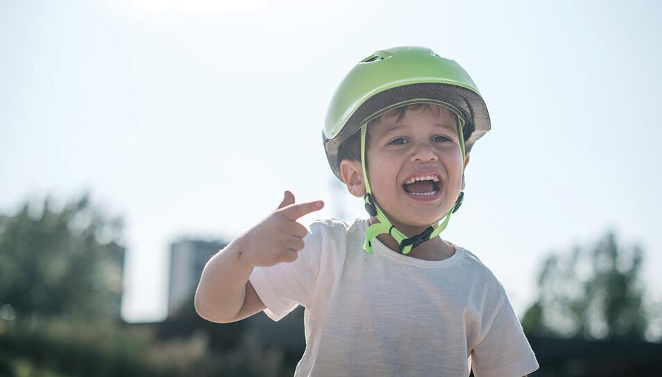 vélo ville enfant