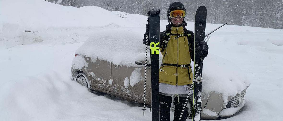 Une aventure freeski au Japon avec Benoît, ambassadeur freeride Wedze