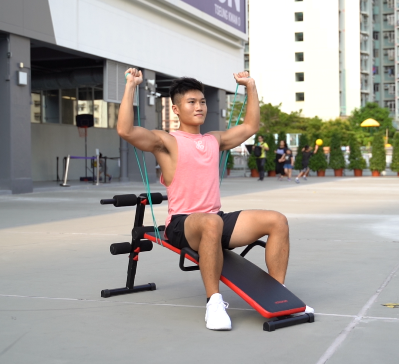 abs bench exercise