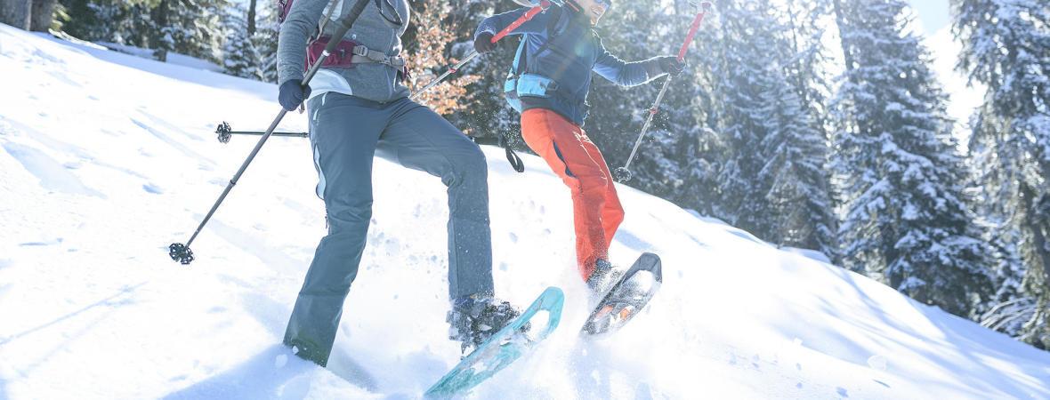 6 astuces pour bien utiliser ses raquettes à neige