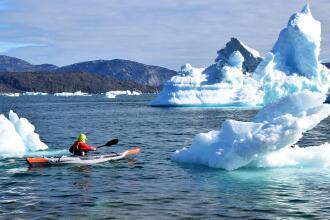 Greenland in kayak