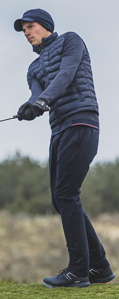 Quelles couches mettre pour golfer par temps chaud ?