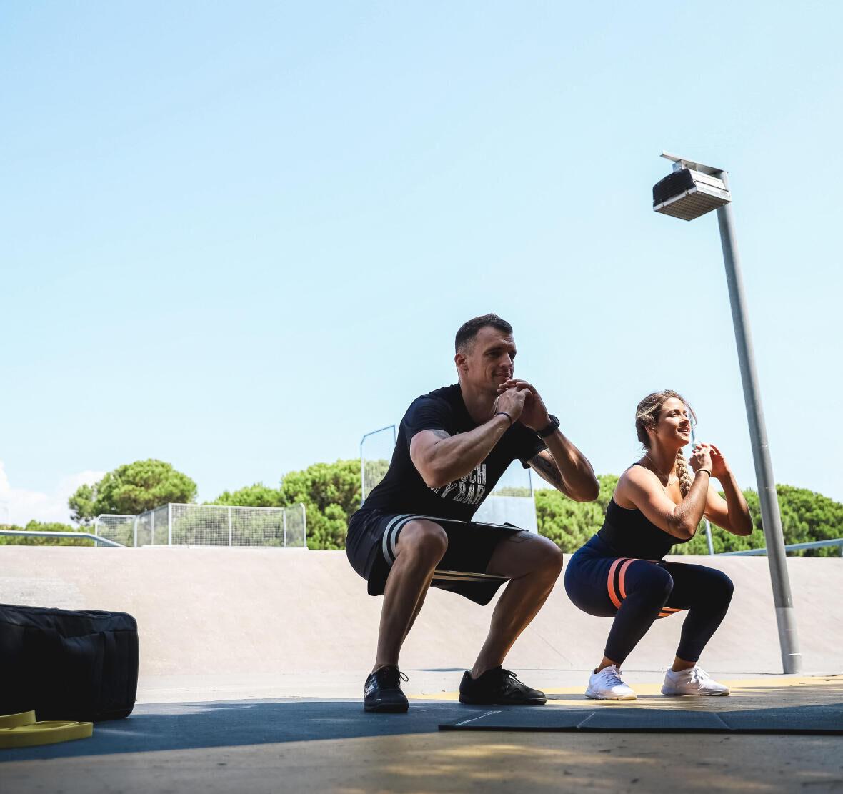 squat pour muscler les fesses