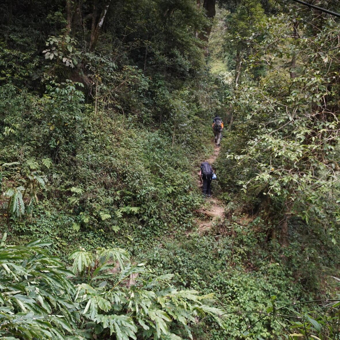 ascension du Pu ta leng au Vietnam