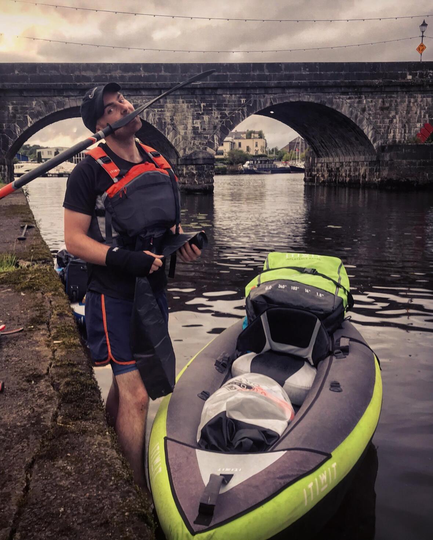 kayak trip wild camping ireland