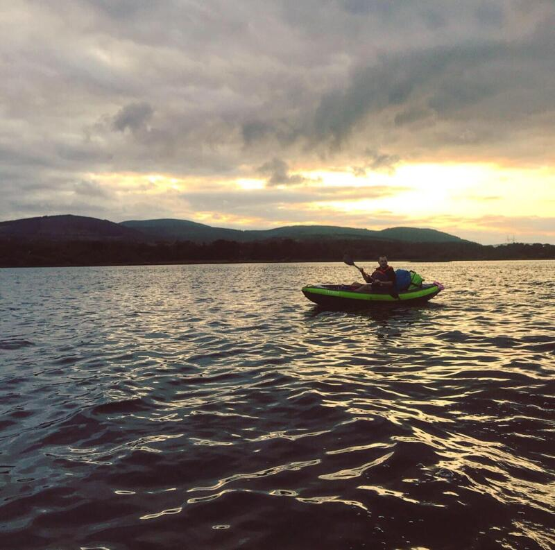 canoe kayak gonflable fleuve shannon irlande