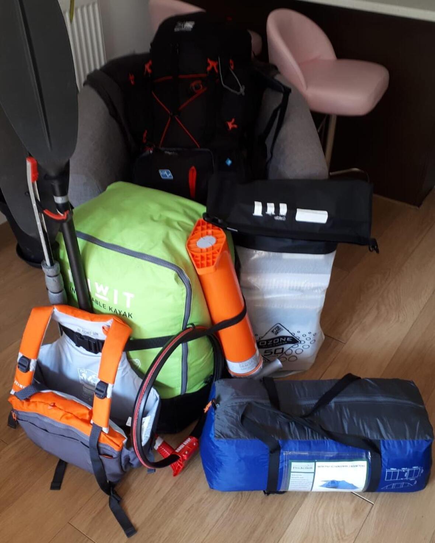 kayak trip ireland package