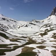 itineraire trek niveau moyen dans les alpes