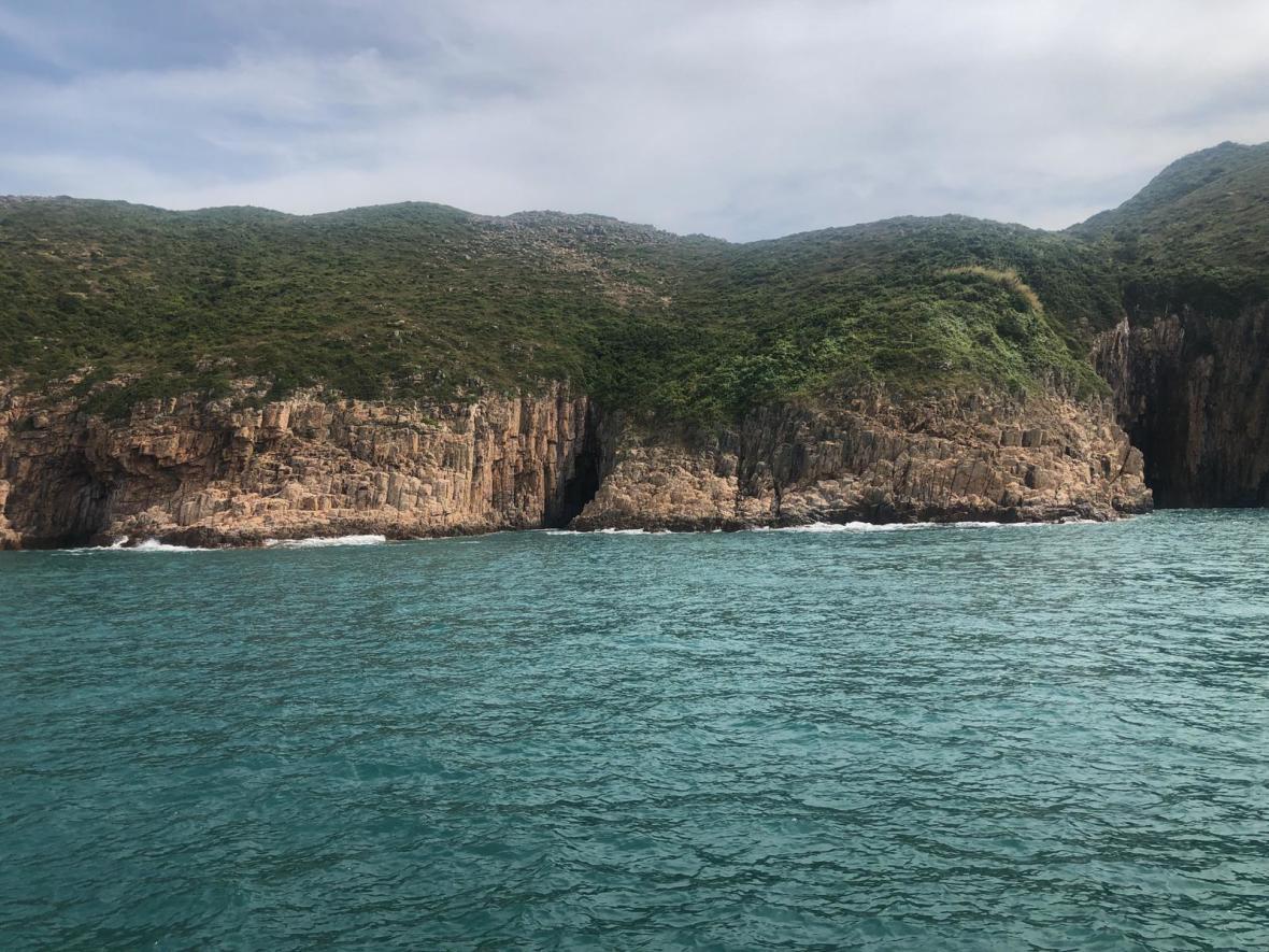 Basalt island view