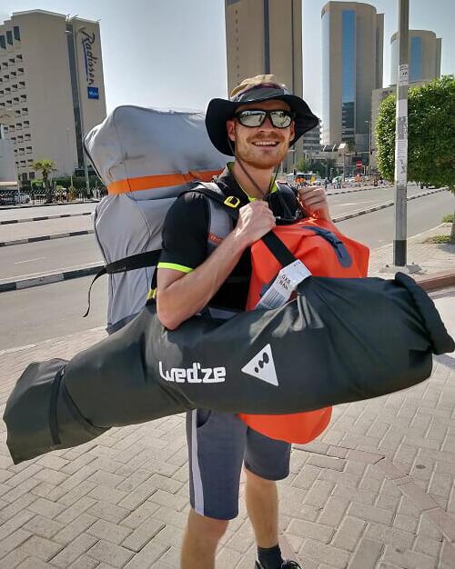 kayak trip united arab emirates preparation