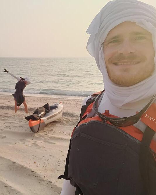 kayak trip arabian fjords khasab
