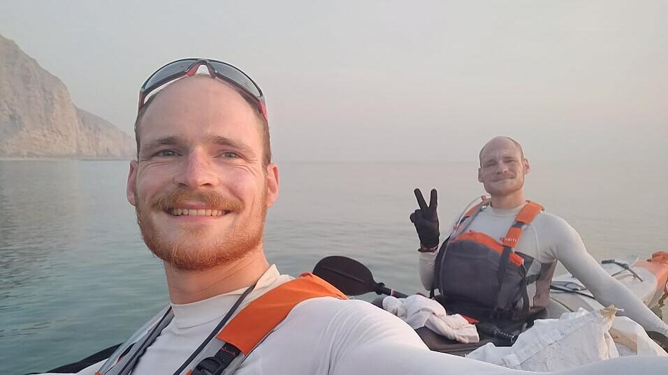 kayak gonflable sultanat oman