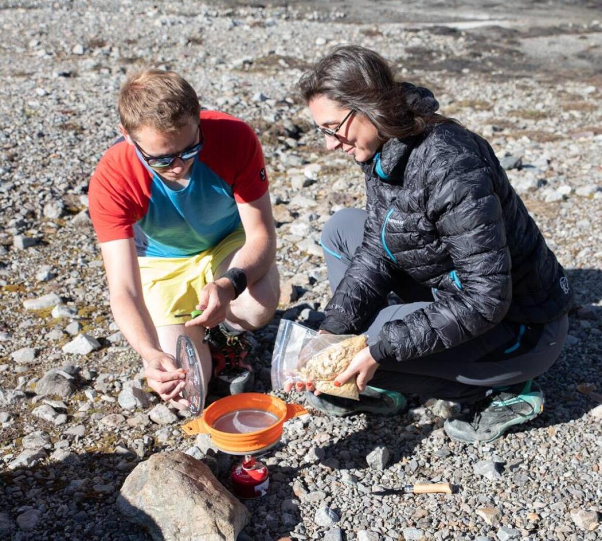préparation recette camping