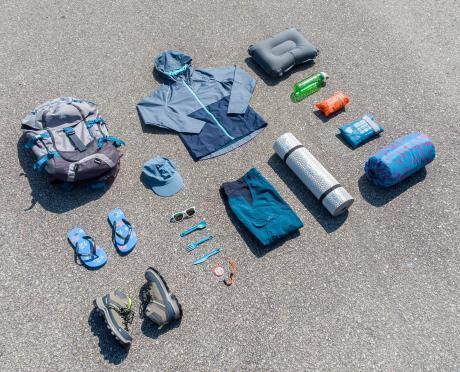school kids camping gear