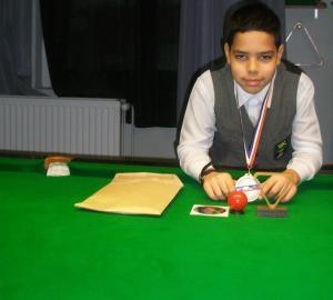 Jeune protige de snooker