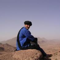 itineraire d'un trek dans le Sahara marocain