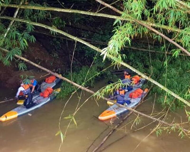 Wouri Cameroun stand up paddle
