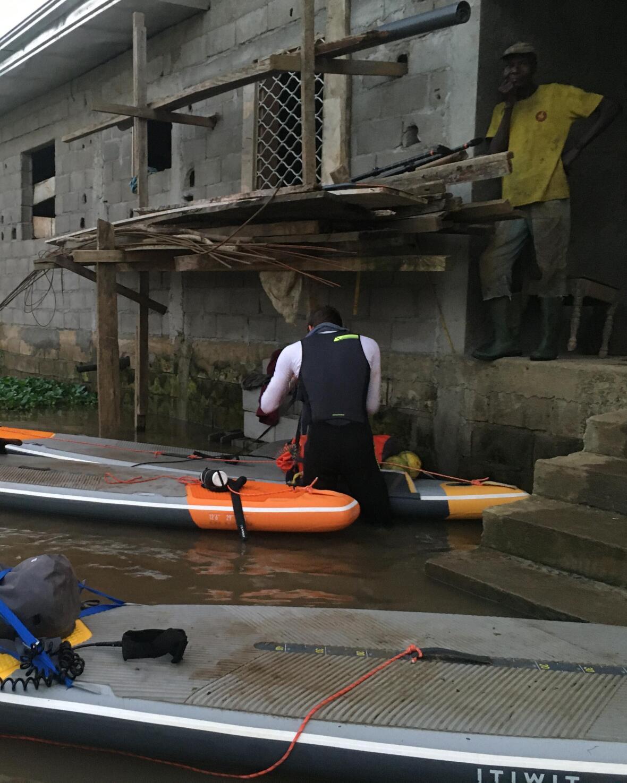 cameroun trip stand up paddle