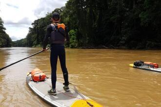stand up paddle trip cameroun