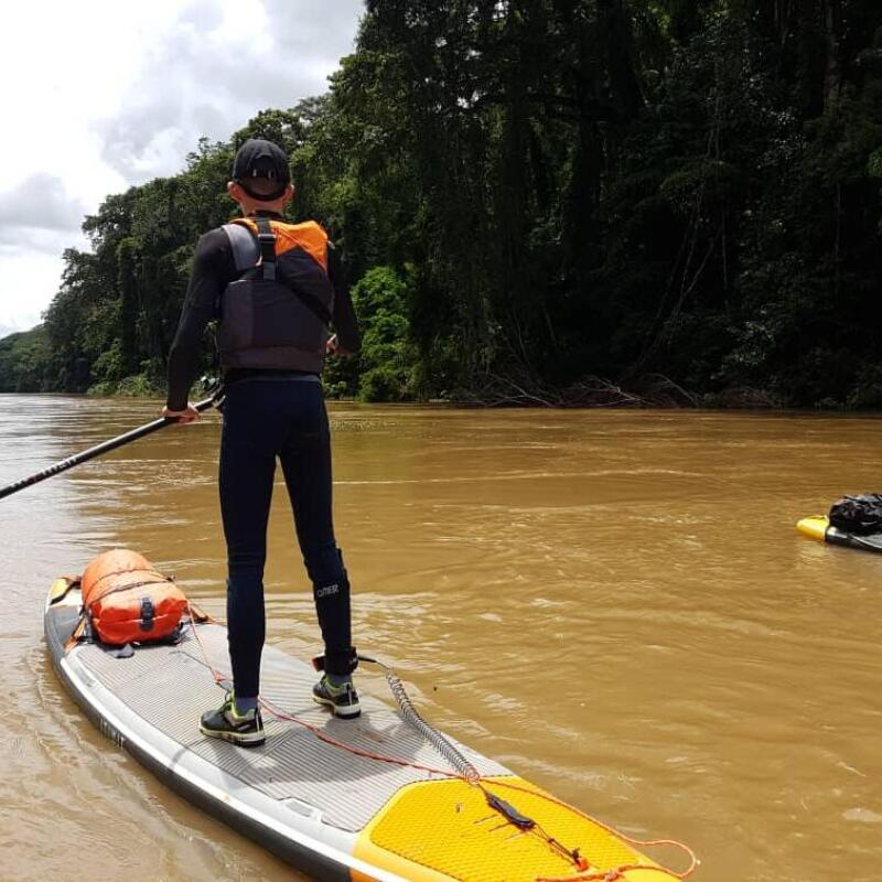stand up paddle trip cameroun