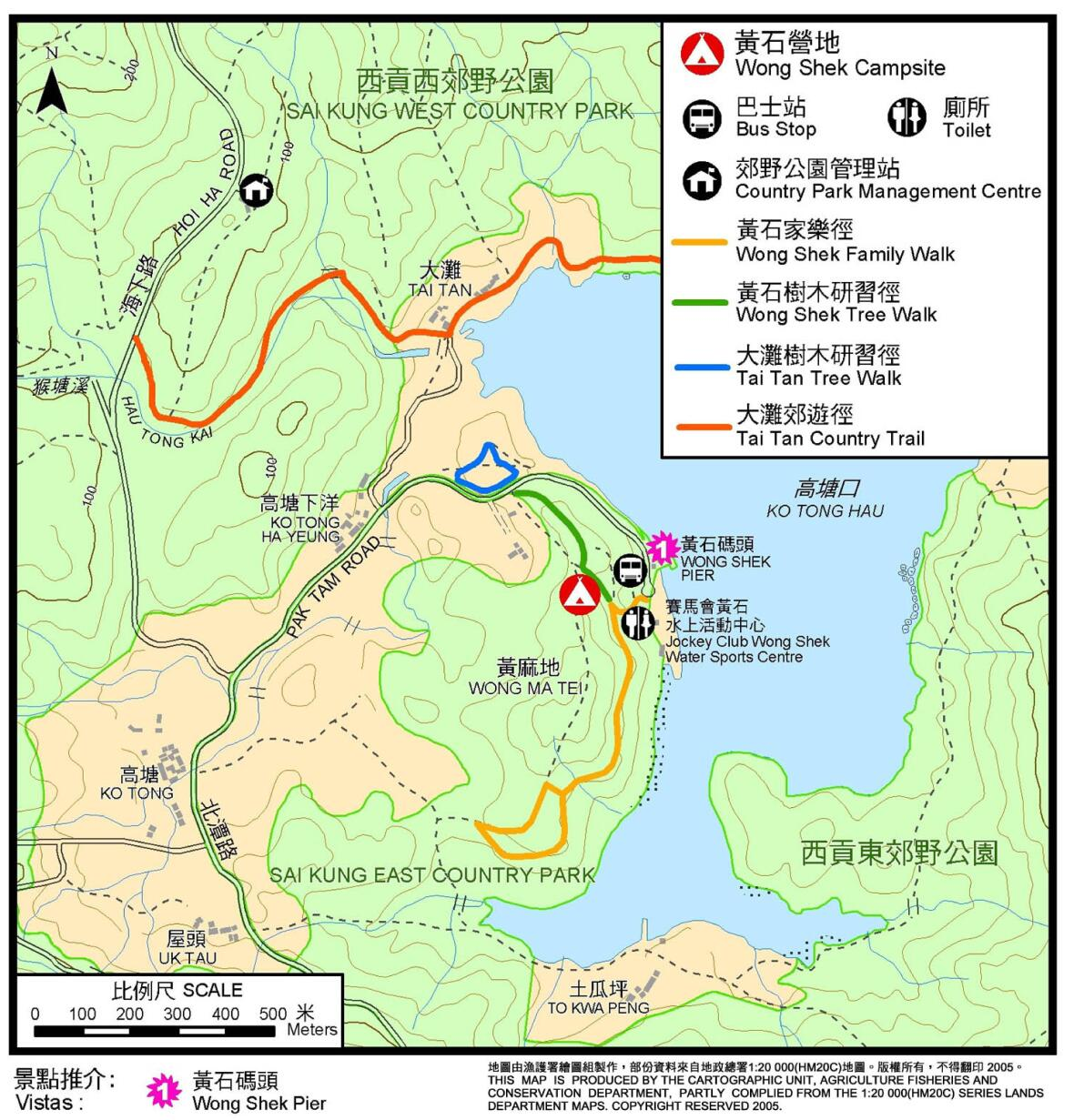 黃石營地地圖