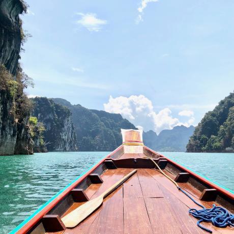 voyage en thailande dans le parc national de Khao Sok