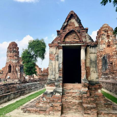 Backpacking en Thailande, visite d'Ayutthaya