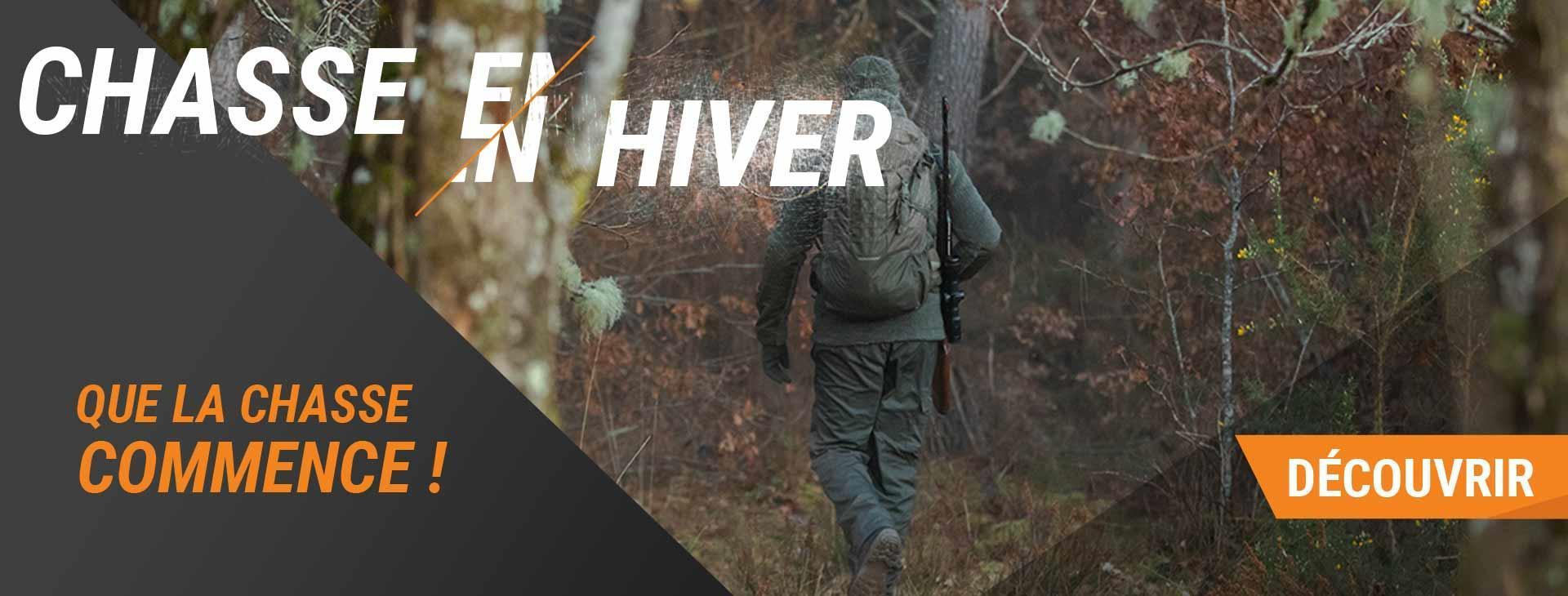 Chasse en hiver