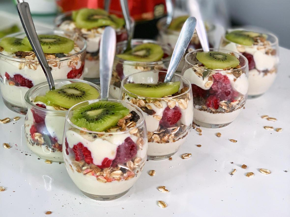 protein muesli yogurt