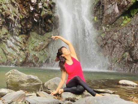 瑜珈老師Sophie