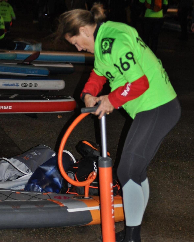 nautic paddle preparation