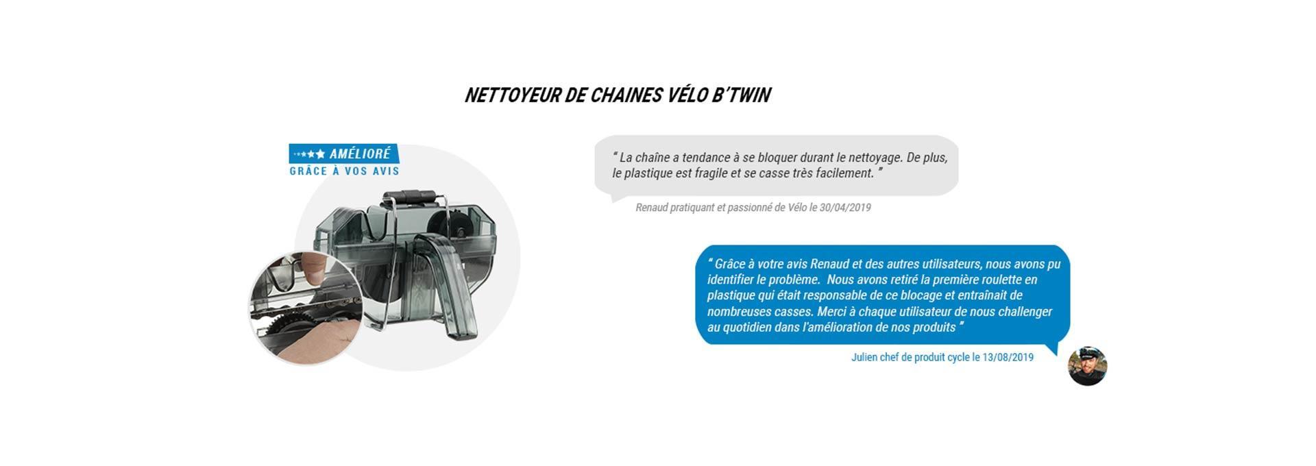 Nettoyeur de Chaine