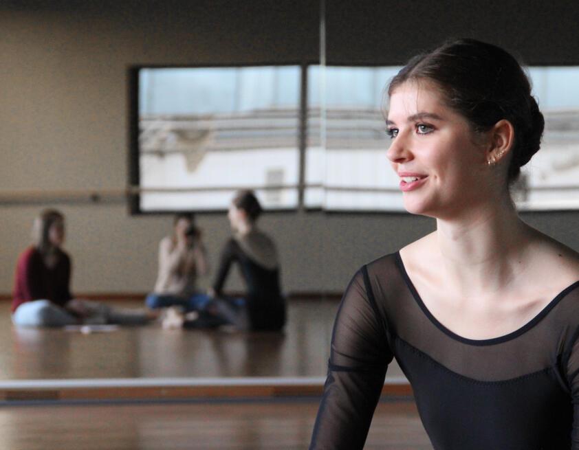 Ania B. interview decathlon danse