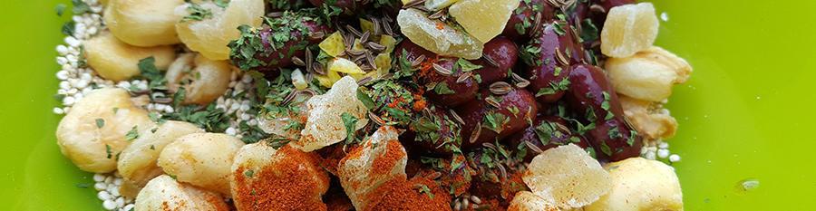 Recipe / Chilli style quinoa