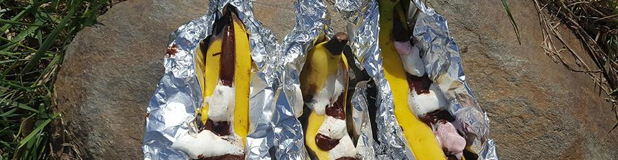 Recipe / Braised chocolate bananas
