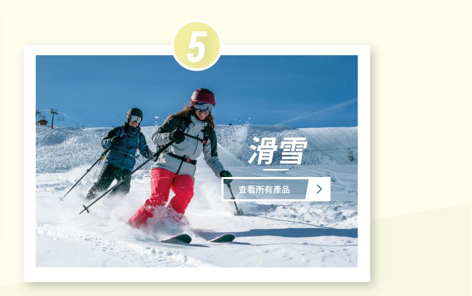 年度運動 - 滑雪